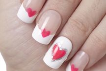 Valentine's Day Nail Inspiration / Check out our favorite #valentinesday nail designs for 2014 <3 Love is in the nail!
