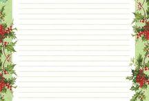 Printables ~ Writing Paper