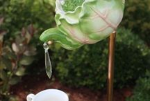 Teapots and whimsies / Pretty teapots, decorations and whimsies.