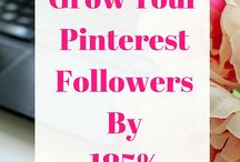 Social Media Tips / Pins and posts on how to grow your stats and social media tips