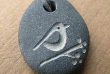 ciondolo pietra