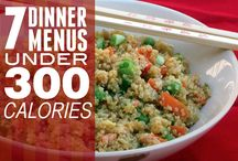 Meals for under 300 calories + 100 calorie snacks / by Beverly ~