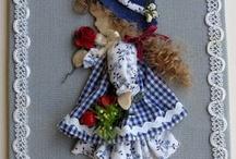 апликаця из кукол
