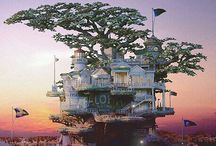 Treehouse Living / Exotic Decor / by Shannon Dailey