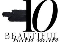 10 BEAUTIFUL BATHMATS