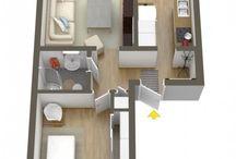 3D ground plan