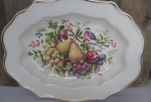 """Giving Thanks - Vintage Style"" by GotVintage Shops / Thanksgiving done with vintage style – your Thanksgiving table, autumn home decor, fall themed clothing and jewelry, anything with a Thanksgiving holiday/fall theme – ephemera, linens, collectibles…"