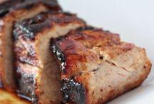 comida cerdo