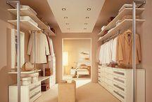 dressing rooms & closets
