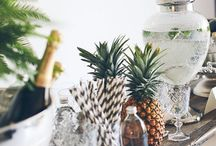 Raise the Bar: bar cart styling / Bar carts and beverage styling setups and booze for the home bar. / by Jenny Batt