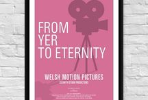 Printed Welsh Posters