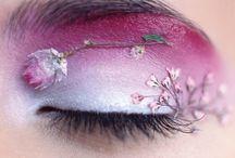 Floral Make Up