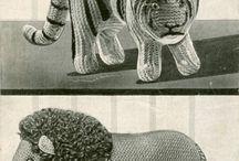 Игрушки на спицах