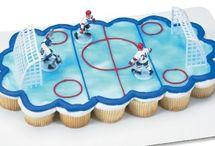 Хоккейные торты