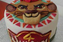 Pastel De La Guardia Del Leon