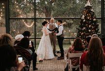 Christmas Wedding Photography // Austin Wedding Photographer
