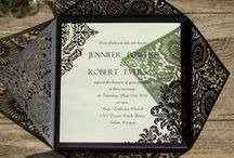 Convites e fontes / Convites e fontes para casamento