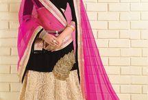 Designer Lengha Style Sarees