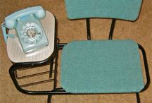 867-5309 / Telephone tables, desks and chairs.