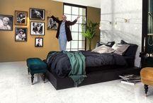 Bedroom / Inspirerande bilder på hur keramiken kan få ta plats även i sovrummet.