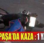 Gazipaşa'da Kaza : 1 Yaralı
