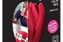 DYLON Lale Kırmızı - Tulip Red - Fabric Dye With Salt