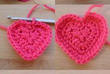Crochet patterns / Horgolás minták / Ideas and patterns