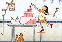 ilustraciones#cocinando