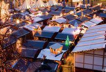 Weihnachtsmärkte / christmas markets / Lichter, Musik und Gerüche, wie man sie nur in der Adventszeit erleben kann...