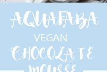 Aquafaba/Vegan recipes