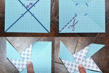 remolinos de papel