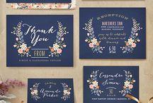 Invitation Details: Spring Weddings
