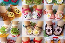 Crochet shoes / Édes kis cipőcskék! :)