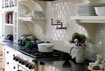 "Decor + Design: Kitchen Design + Dream Kitchen + Kitchen Inspiration / I need to redesign my kitchen -- all of this is inspiration for that ""someday"" project :)"