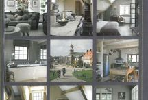 Strand House Flemish Interior Design / Inspiration from Belgium, Brugges and Der Haan, a pallette of soft grey, blues and creams. Wonen Landelijke Stijl magazine is a great favourite of ours even if we cannot read Dutch. Our hotel in Rye even featured in it last Christmas.
