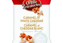 Movie Night! / Everything you need to enjoy a movie night at home.  ** I received Orville Redenbacher's Caramel & Cheddar popcorn free to try from Influenster! **
