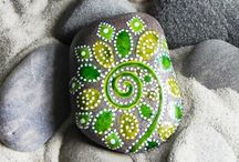 Painted &creative stones