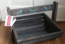 te koop krijtverf gepimpte meubels