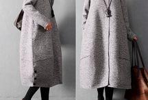Пальто бохо