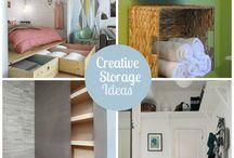 Creative Storage Ideas / storage ideas