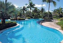Pool Time / Who doesn't like spending time at the pool?  We have three free form infinity pools to choose from. / by Four Seasons Resort Nevis, West Indies