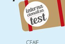InternacionalizaTest / InternacionalizaTest es una App gratuita que ayuda a las empresas en su proceso de internacionalización. desarrollada por A\V Asesores para CEAJE en colaboración con Javier Dalmau y Melania Pradas