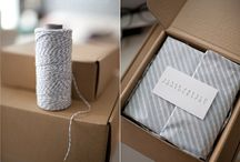 Packaging..ideas. / by lareine                                              artisan silver jewellery