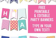 Printables, Templates and DIY galore / by Ali Mast
