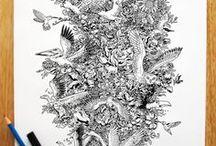 inkwork|tangles