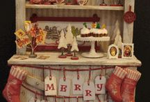 Miniature Christmas Goodness / by Debbie Booth