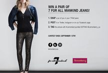 Contest / Win a Free pair of @7fam jeans!