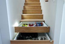 Stockage d'escalier