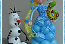 Детские праздники / Оформление шарами детских праздников