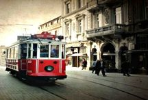 Taksijm Tram / Remembering the tram in Taksim(a quarter of Istanbul). I simply don't know why it strikes the imagination of people so strongly